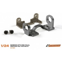 Adjustable rear axle mount