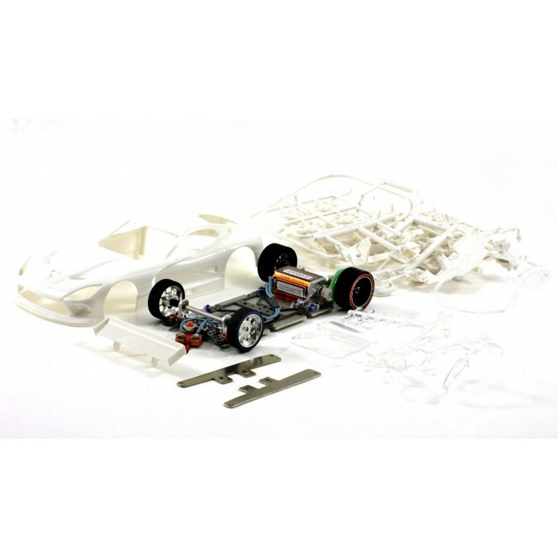Viper GTS-R Full Racing RC Competition White Kit GT3 Chassis