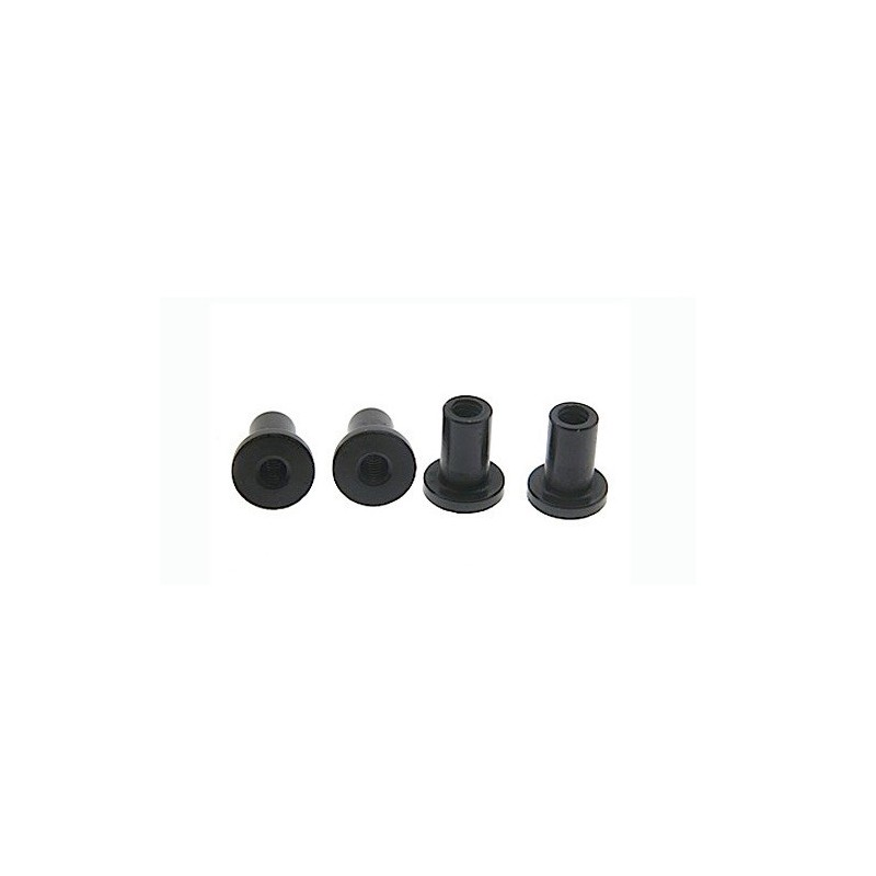 Suspension mounts 6 mm black