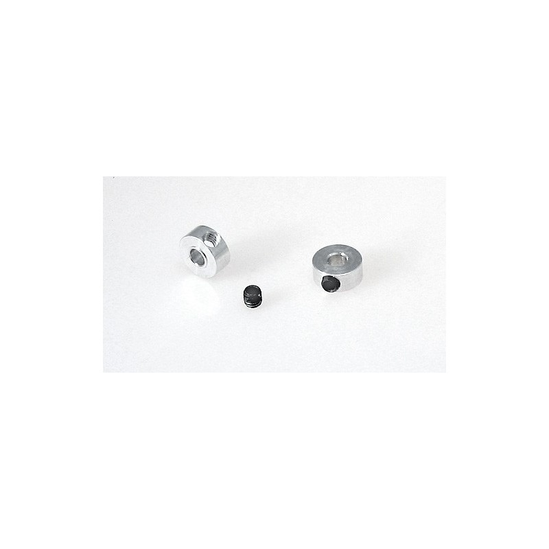 Axle Stoppers Ø3mm Aluminum M3